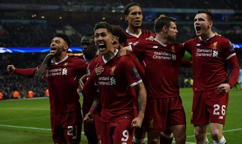 El Liverpool ganó ambos partidos de la eliminatoria al City de Guardiola