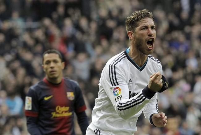 El defensa del Real Madrid Sergio Ramos. EFE / END