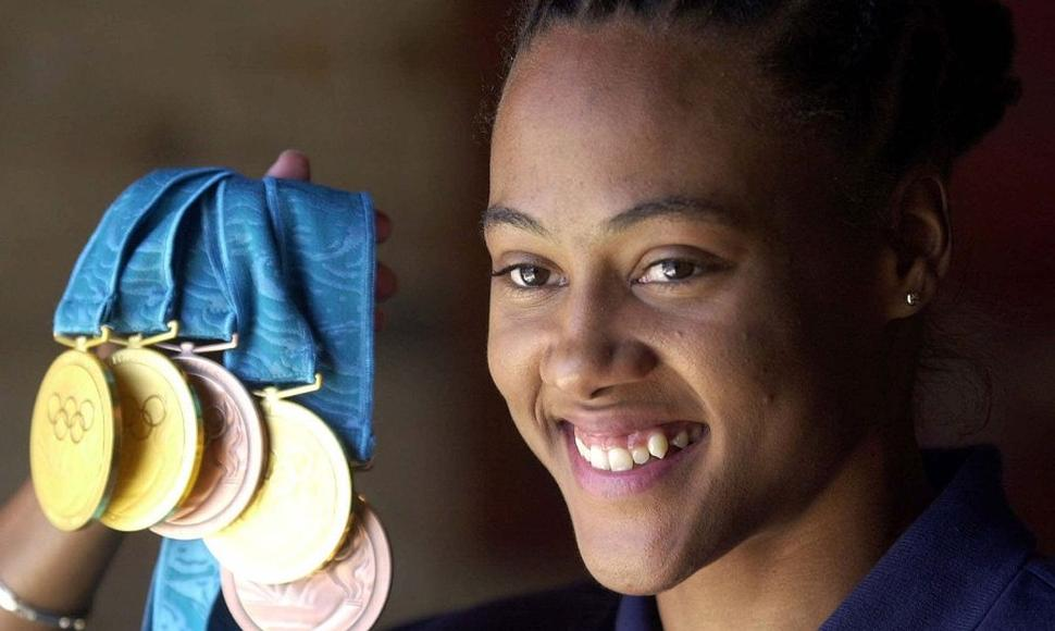 Marion Jones fue despojada de cinco medallas olímpicas por dopaje.