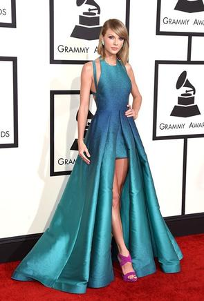 Toda una princesa Taylor Swift. AFP / END