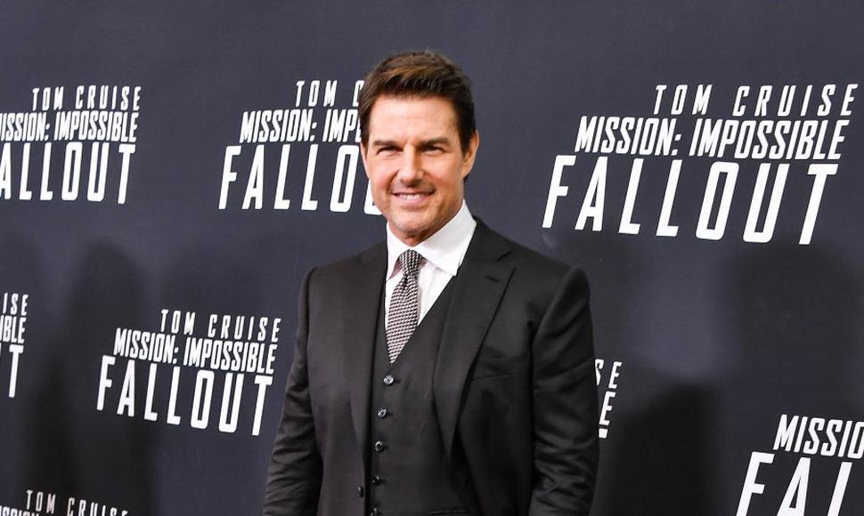"Tom Cruise, actor de ""Misión imposible""."