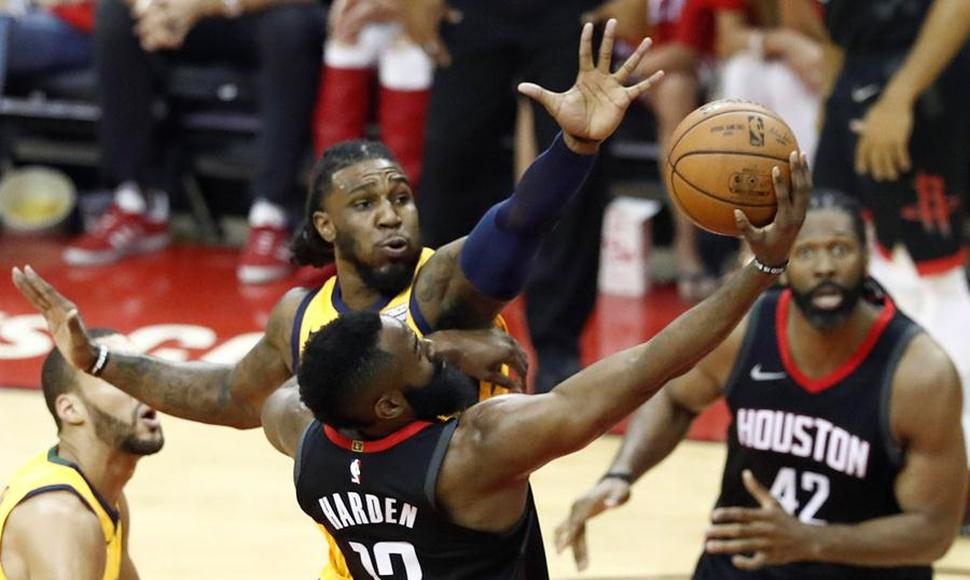 James Harden, la estrella de los Houston Rockets.
