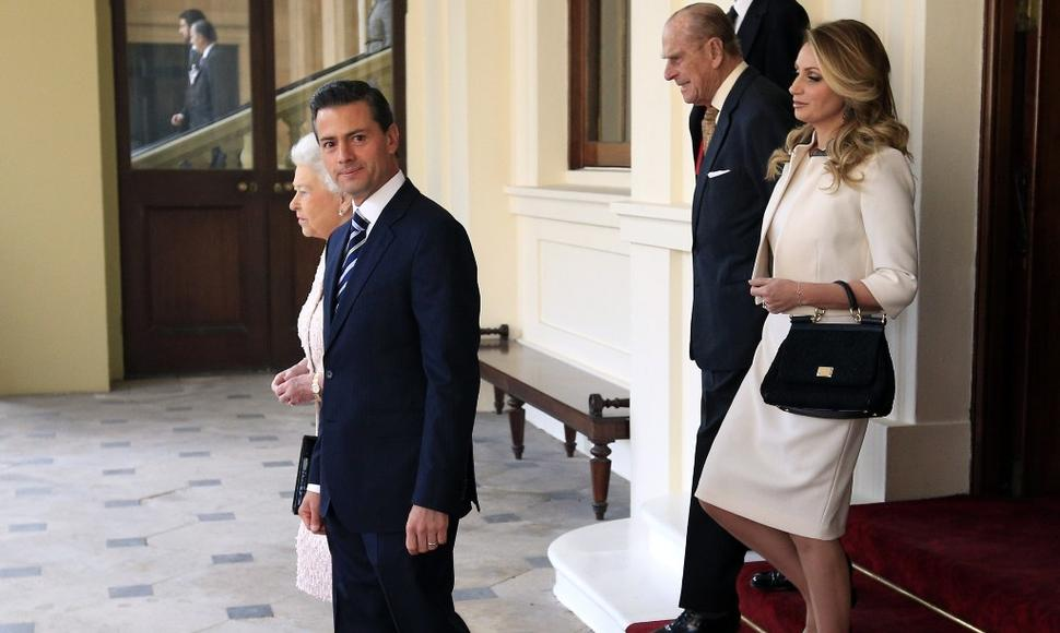 El presidente mexicano Enrique Peña Nieto (i). AFP / END