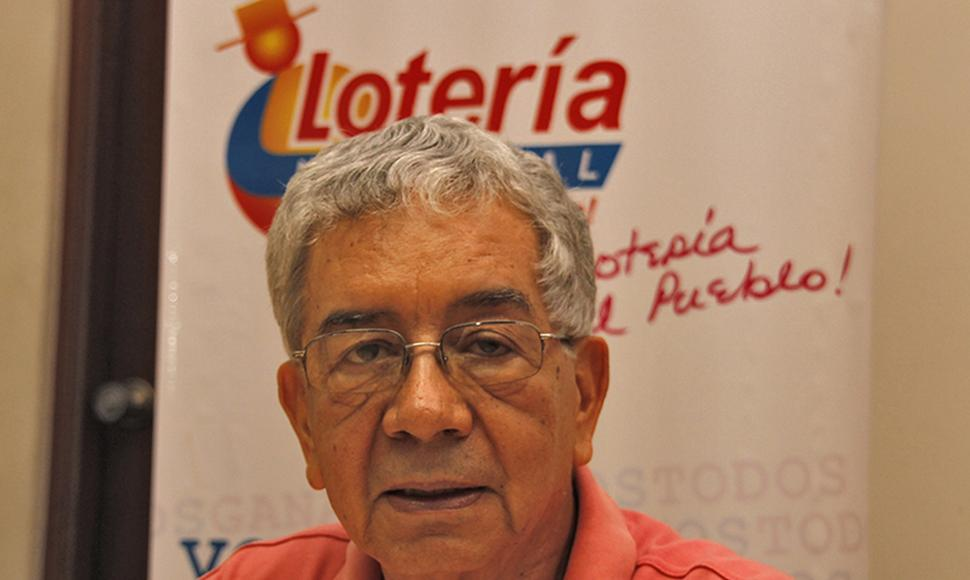 Ernesto Vallecillo, gerente general de La Lotería.