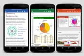 Word, Excel y PowerPoint en tu Android