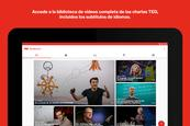 TED Talks presenta nueva app
