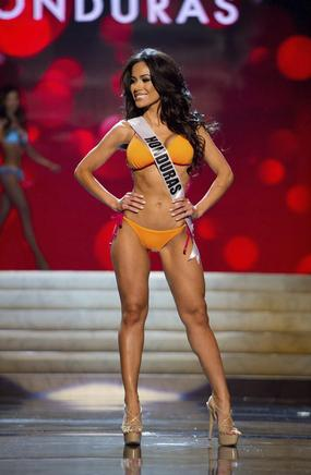 Miss Honduras 2012, Jennifer Andrade. EFE / END