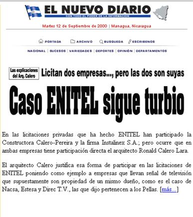 Página web END 2000