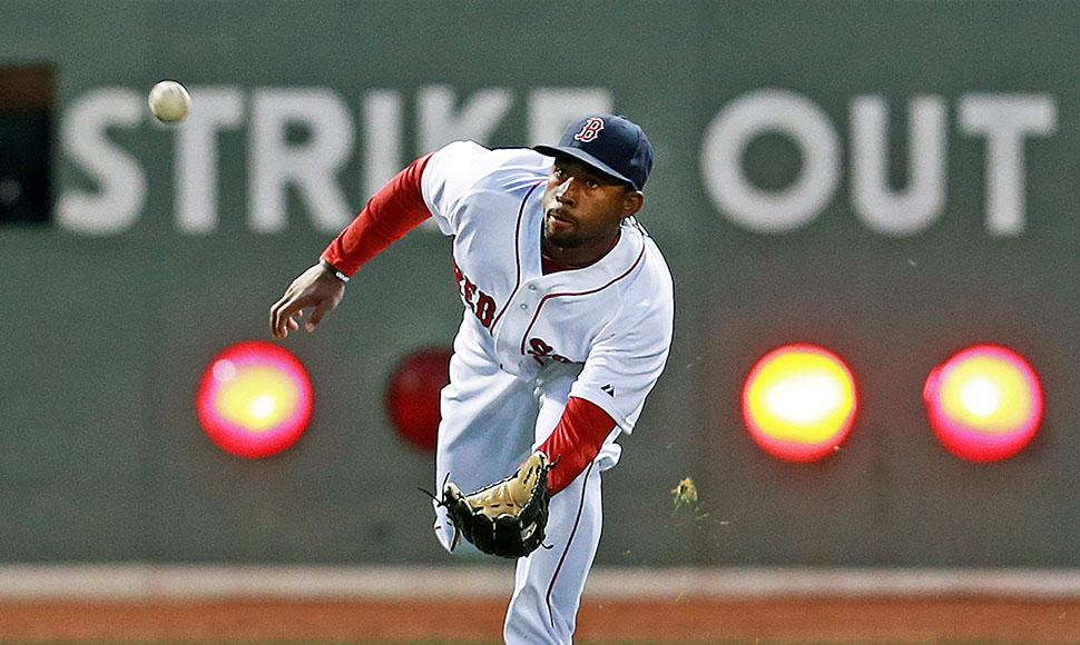 Jackie Bradley Jr. Sería el guardabosque central.