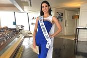 "Adriana, la ""it girl"" de Miss Universo"
