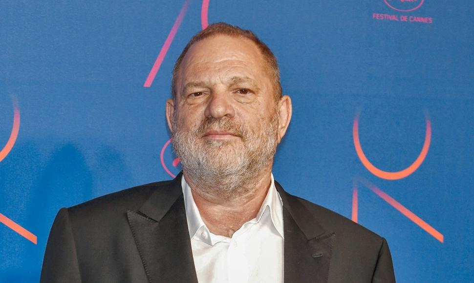 Productor de cine Harvey Weinstein