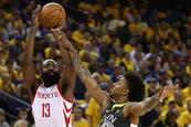 Rockets empatan serie ante Warriors