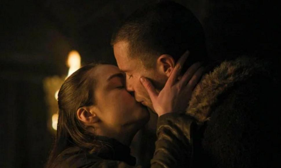 "Arya Stark y Gendry en el segundo episodio de la última temporada ""Game of Thrones. Foto: Cortesía/ END"