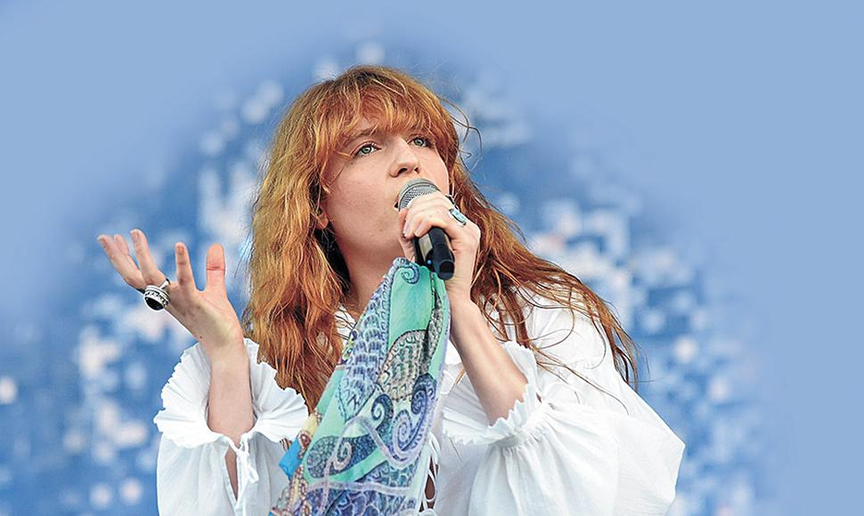 El debut de Florence and The Machine fue espectacular: