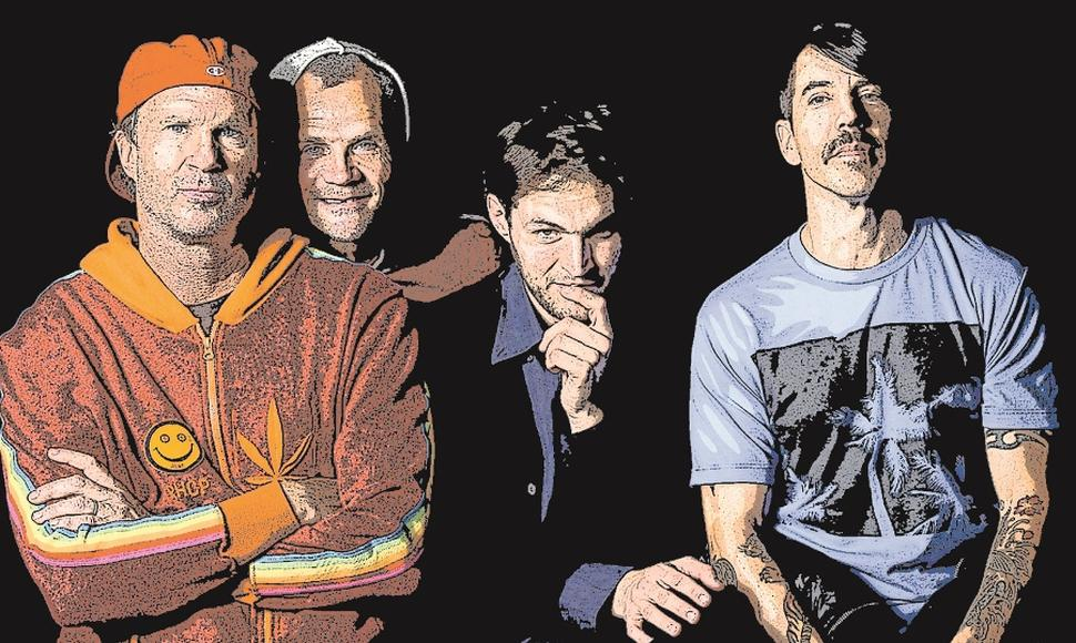 Red Hot Chili Peppers (RHCP) es un grupo de California fundado en 1983, que combina funk y rock.