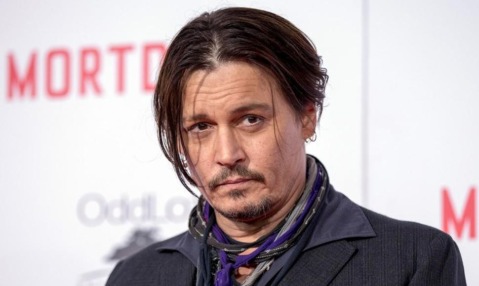 Johnny Depp, actor.