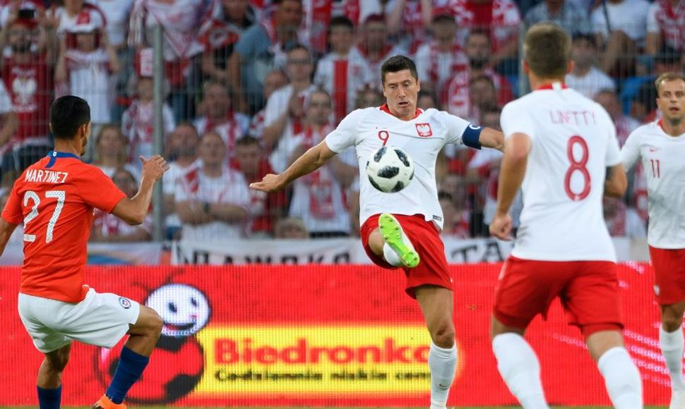 Chile vs. Polonia: Lewandowski anotó golazo en el amistoso