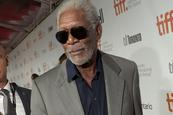 Morgan Freeman pasa buen susto