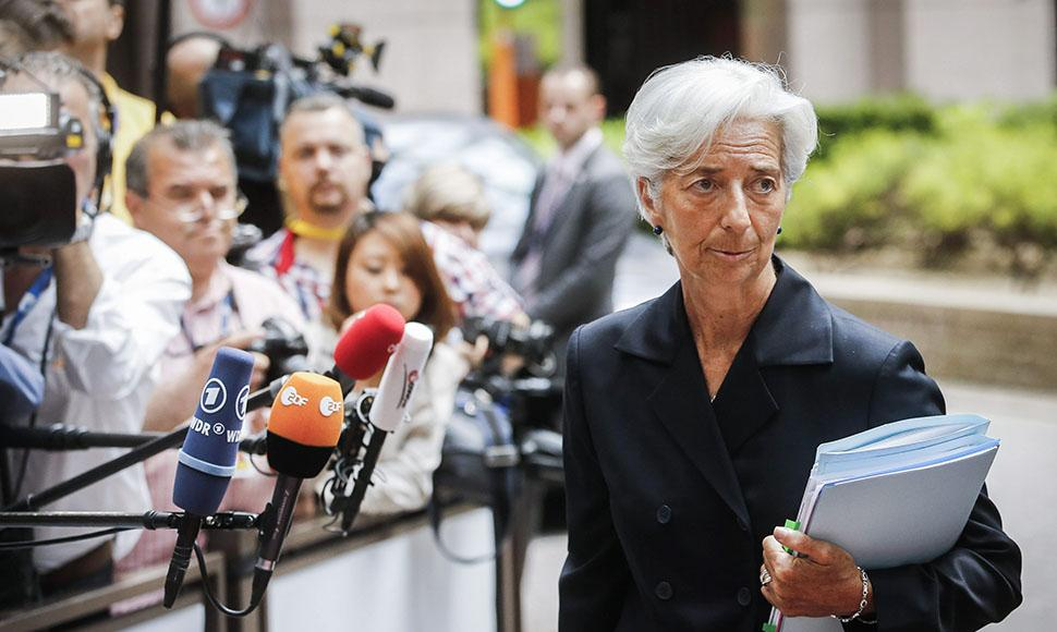 La directora general del FMI, Christine Lagarde.
