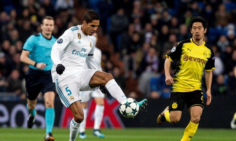 Raphael Varane, defensor del Real Madrid