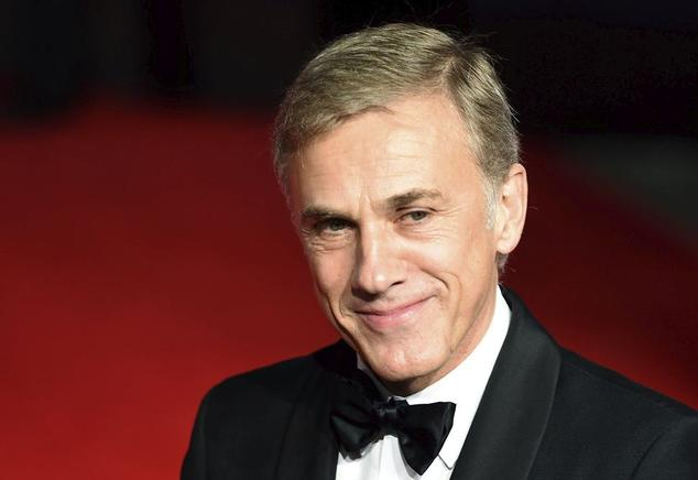 El actor austríaco Christoph Waltz.