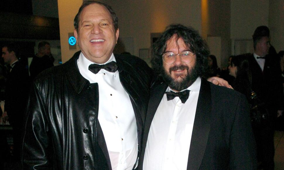 Harvey Weinstein y Peter Jackson.