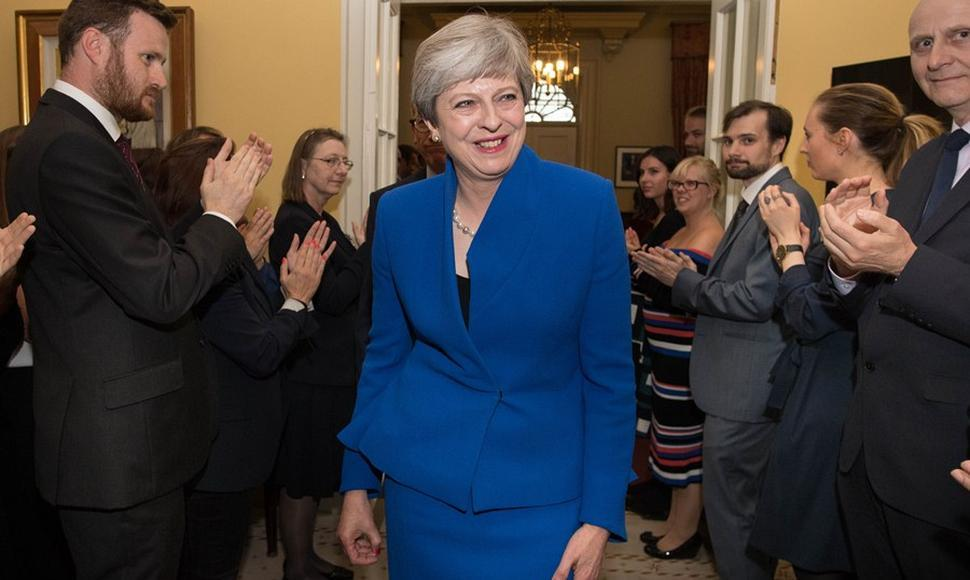 Primer ministra británica Theresa May