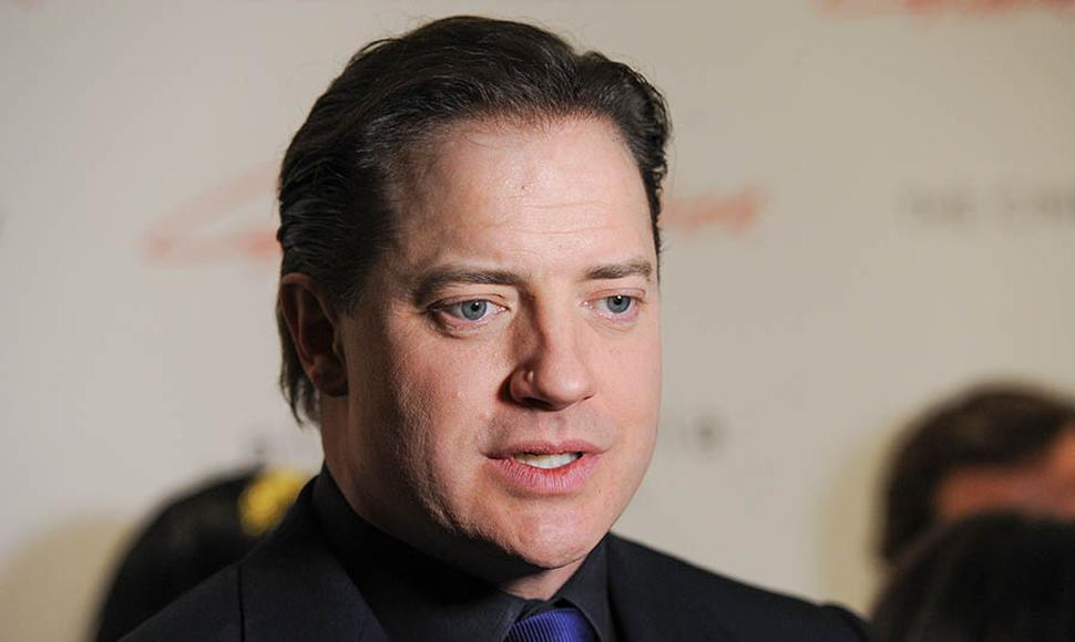 Brendan Fraser, actor.