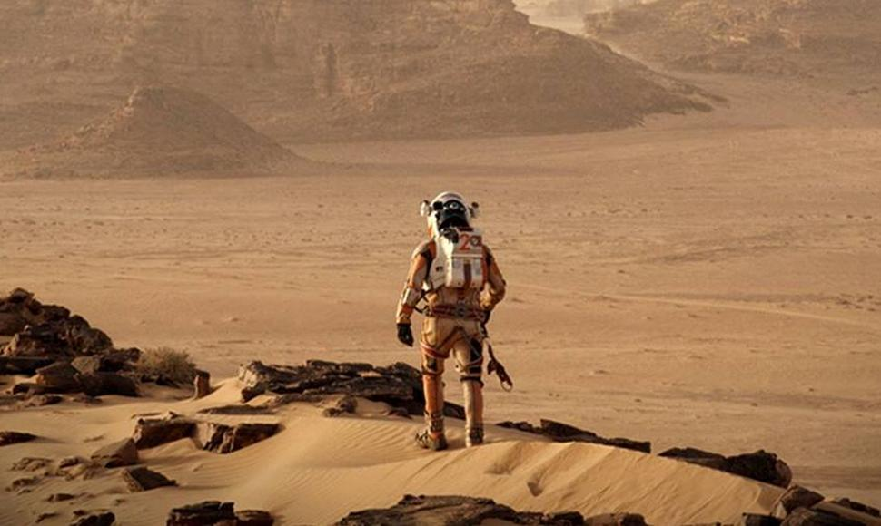 The Martian es protagonizada por Matt Damon.