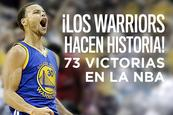 Curry y los Warriors imponen marca histórica