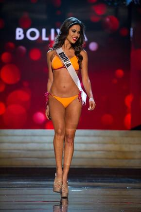Miss Bolivia, Yessica Mouton. EFE / END