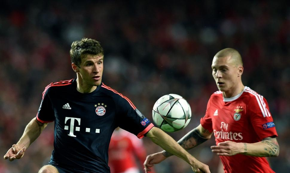 Thomas Muller fue incidente en la eliminatoria.