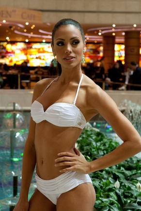 Miss Puerto Rico 2013, Monic Perez. AFP / END