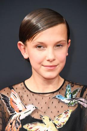 Millie Bobby Brown de la serie Stranger Things.