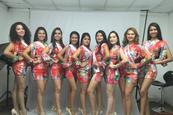 Candidatas a Miss Teenager en la recta final
