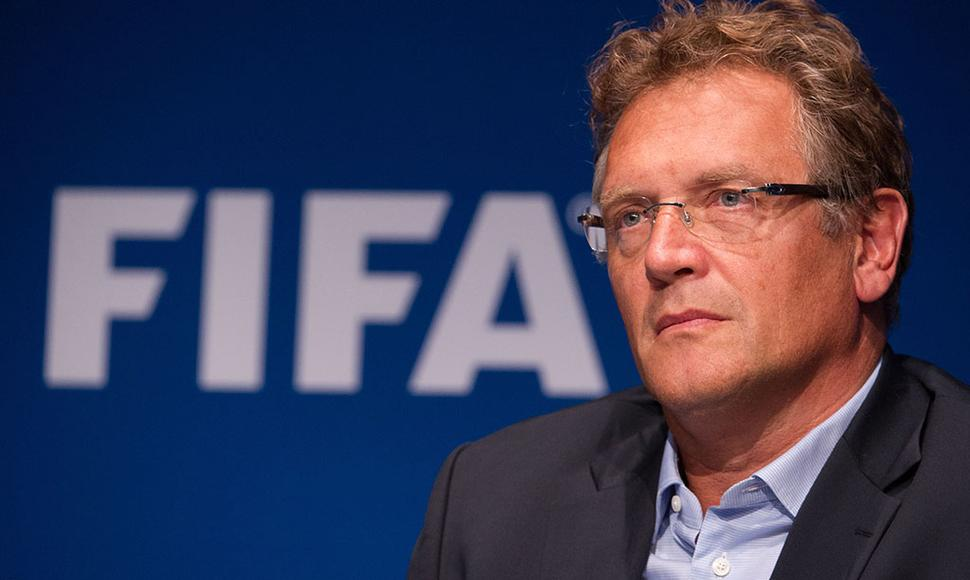 Jerome Valcke, secretario general de la FIFA.