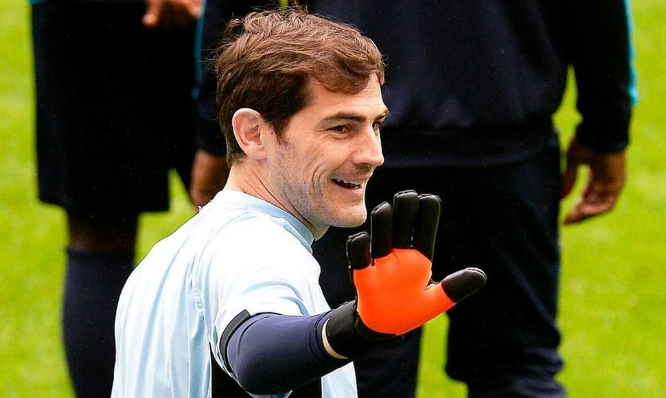 El guardameta del Oporto, Iker Casillas.
