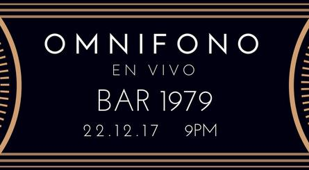 Omnífono en vivo en Bar 1979