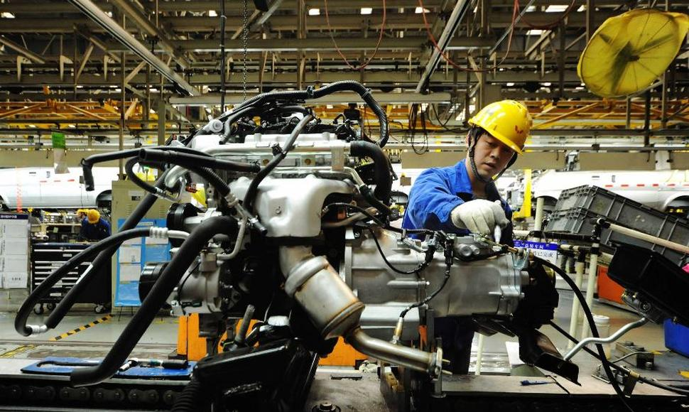 La industria China empezó a recuperar sus beneficios.