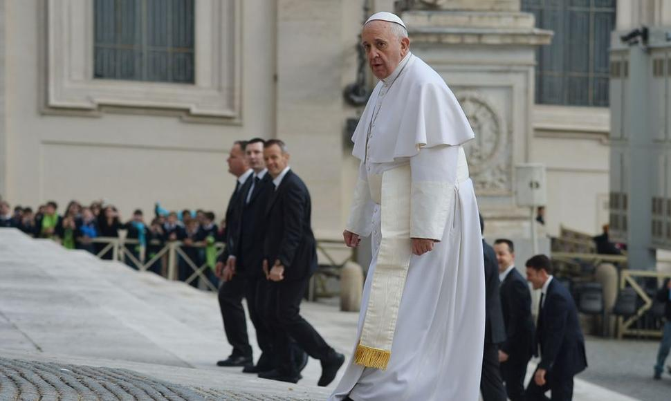 El papa Francisco. AFP / END
