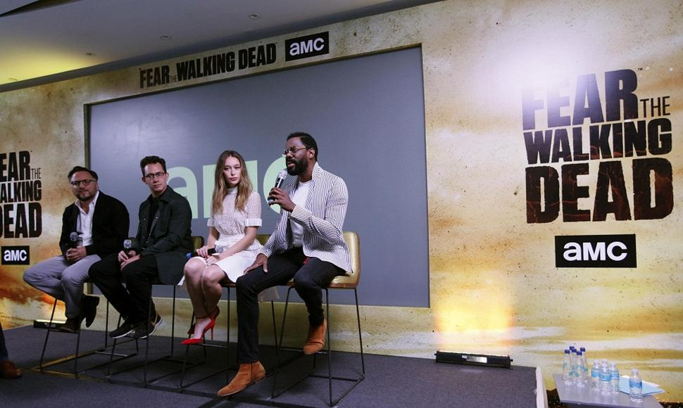 "Actores de ""Fear the Walking Dead"""