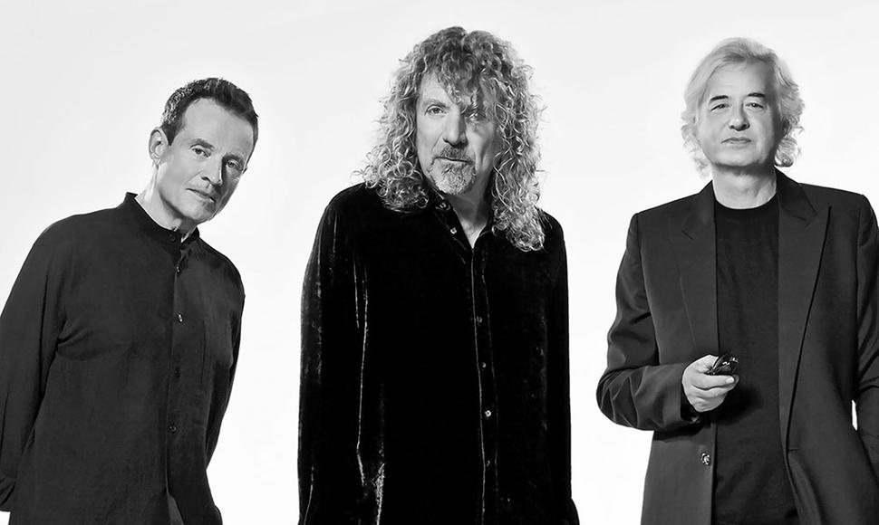 La banda Led Zeppelin.