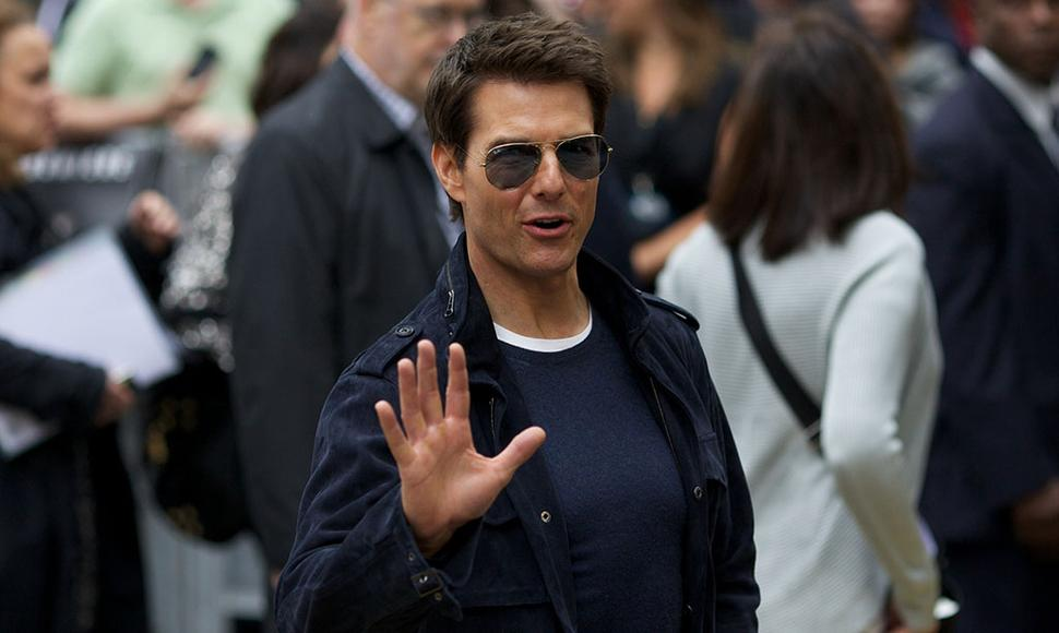 Tom Cruise, actor.