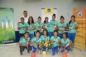 Premian a campeonas