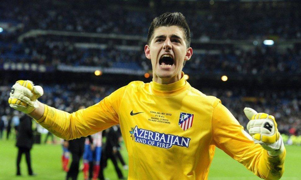El guardameta Thibaut Courtois