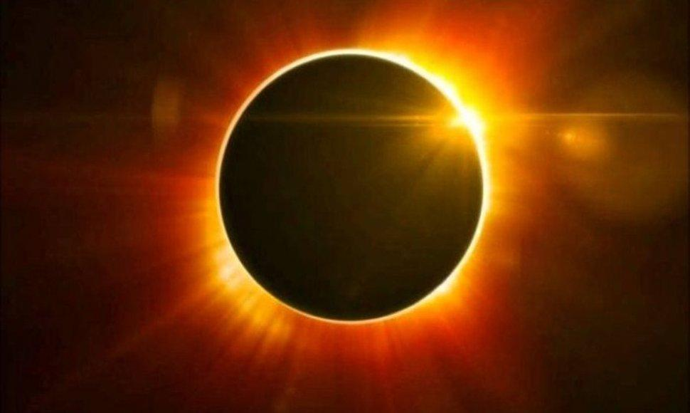 Eclipse solar.