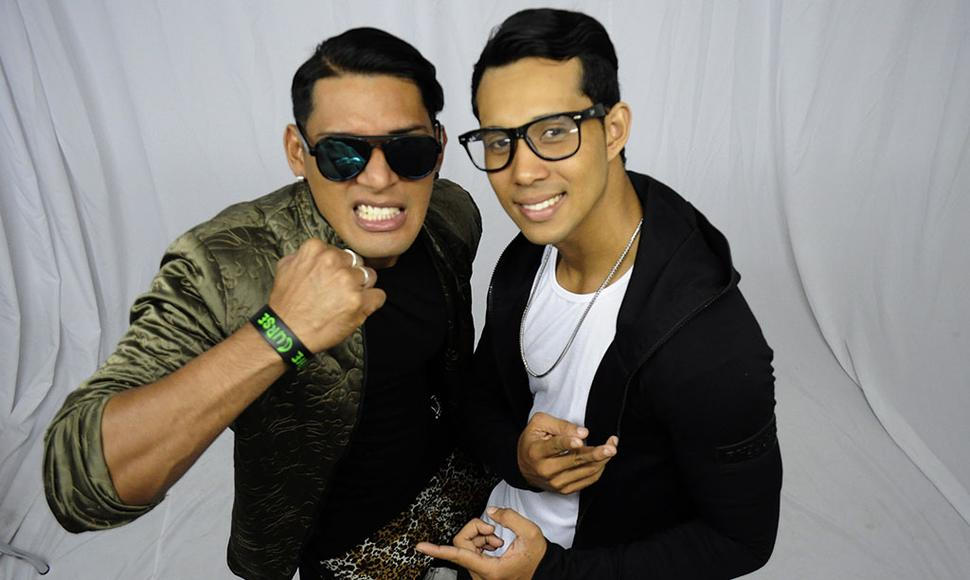 Yamu y Tony Farrash.