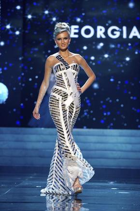 Miss Georgia, Tamar Shedania. EFE / END