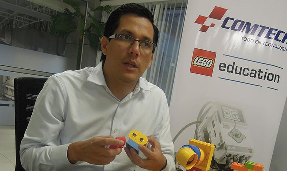 Christian Linares, responsable de Lego Education.