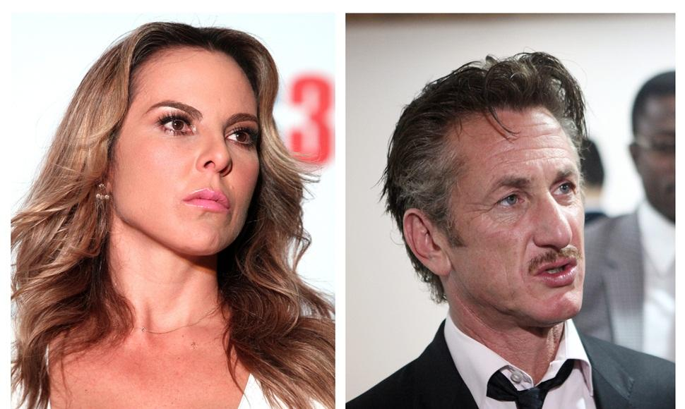 La actriz mexicana Kate del Castillo y el actor estaounidense Sean Penn.